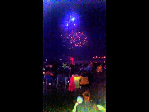 Fireworks York beach Maine 4th of July 2015