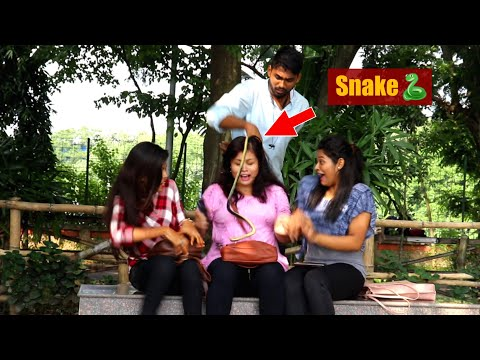 🐍Snake Prank On Cute Girls 😲😲 Part-2 | PrankBuzz | Pranks In Kolkata