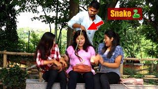 🐍Snake Prank on Cute Girls Part-2😲😲 Prank Gone Wrong | PrankBuzz || Pranks in Kolkata