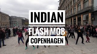 Indian Flash mob in Copenhagen Denmark - 2019