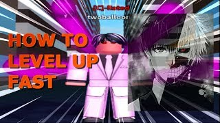Roblox Ro-Ghoul How to Level up Fast (Lvl 200+)