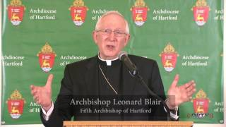 Pastoral Planning Press Conference - Archdiocese of Hartford 5/7/17