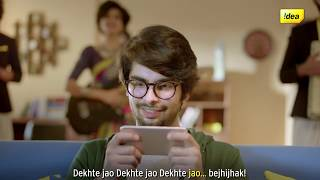 Dekho Bejhijhak and Jeeto Bejhijhak with Idea Unlimited Recharges - 35