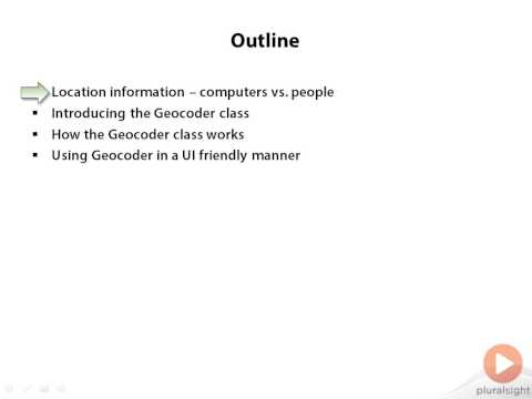 Network Gate Introduction Android Location-Based Apps. Human-Readable Location Information