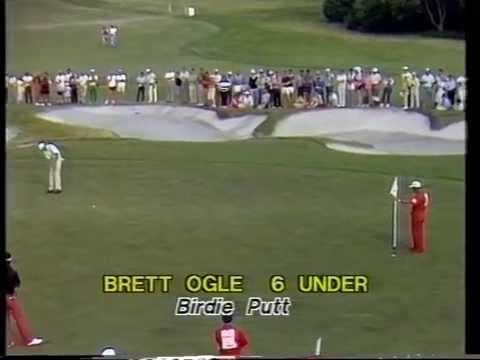 1985 Australian Open Golf won by Greg Norman   ABC TV   Royal Melbourne Golf Club