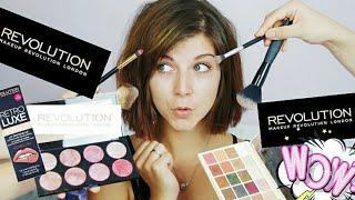 Грим САМО с продукти от Makeup Revolution + GIVEAWAY