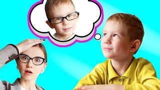 Funny Kid Pretend Play School with Mom / Learn fruits and animals by Tim and Essy Show