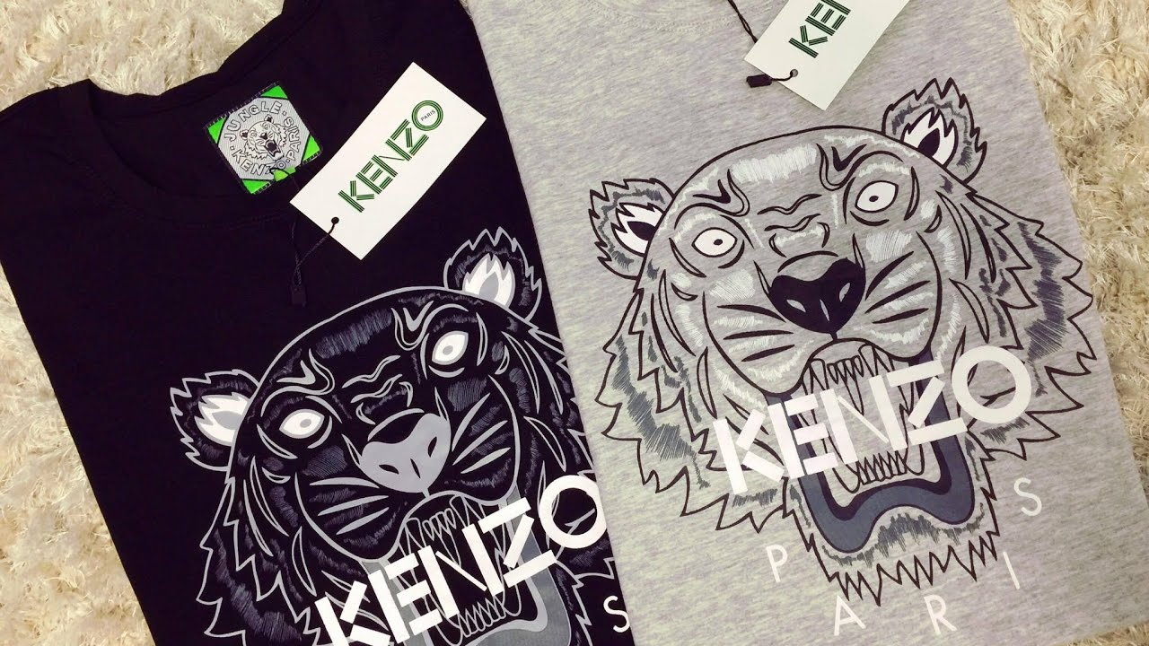 edc01294a0f KENZO T-SHIRT FROM ALIEXPRESS REVIEW - YouTube