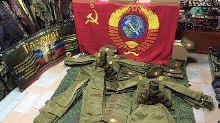 Обзор детских советских костюмов на маникенах