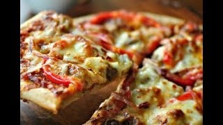 самая вкусная пицца/рецепт классической пиццы/пицца на минеральной воде