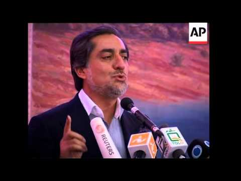 Abdullah accuses IEC of fraud, IEC announces more results, Rasmussen sbite