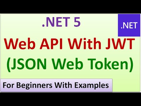 Scaffolding of .NET 5 Web API with JSON Web Token (JWT) for Beginners #11
