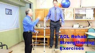 acl rehab strengthening exercises typically started 4 6 weeks after surgery