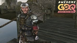 The Elder Scrolls III: Morrowind by Archariat in 28:59 - AGDQ2019