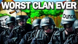 COD GHOSTS: WORST CLAN EVER!! CLAN TROLLING!! FUNNY MOMENTS WITH TEAM KALIBER!!