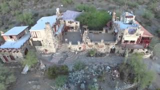 Video Mystery Castle Phoenix Arizona Drone view download MP3, 3GP, MP4, WEBM, AVI, FLV November 2017