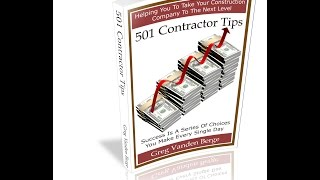 Free Construction Building Materials - Contractor Business Tip #45