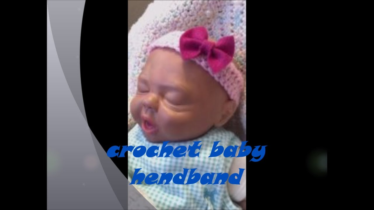 Easy Baby Headband Knitting Patterns: Knitting pattern baby headband ...