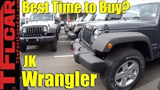 Is This A Good Time to Get a Deal on a Jeep Wrangler? End of JK Production