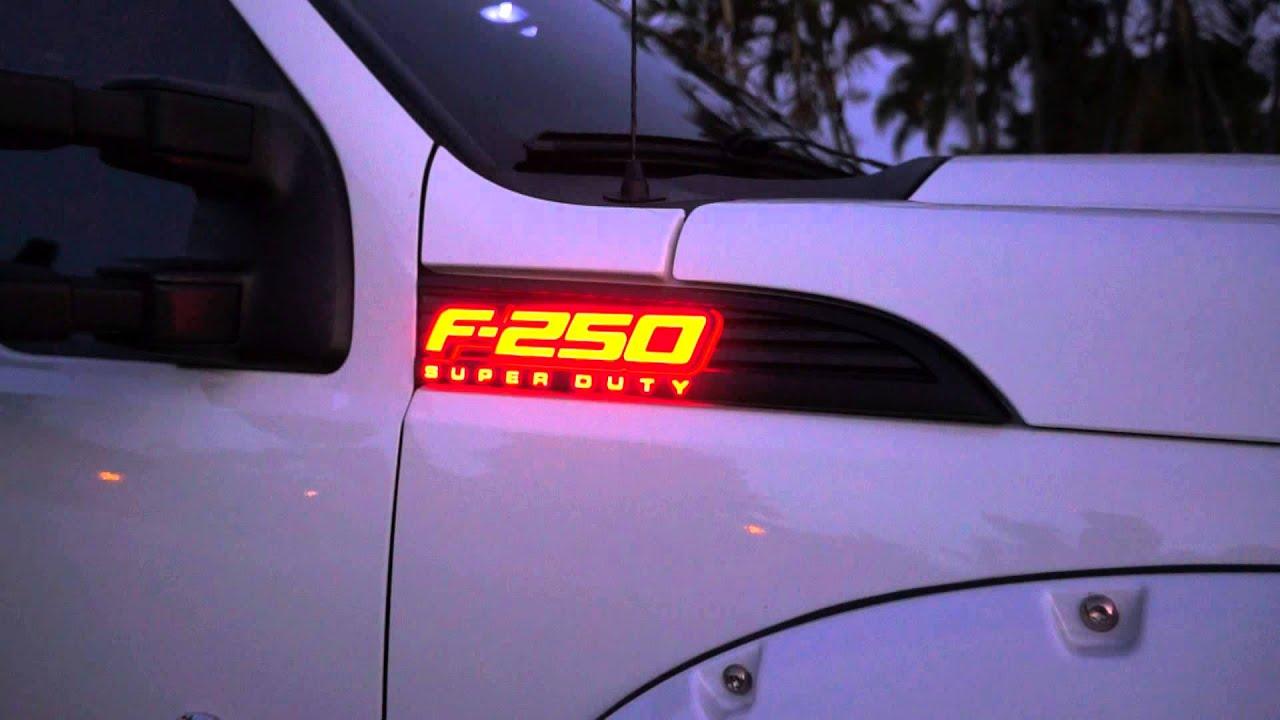 Recon Part 264285rdbk 11 14 Ford F 250 Superduty