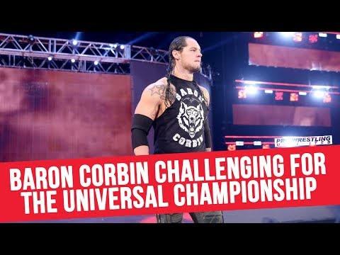 Baron Corbin Challenging Brock Lesnar For The Universal Championship