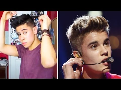Justin Bieber Hairstyle Tutorial 2012 Request Jairwoo Youtube