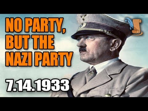 A Day In History: Adolf Hitler Bans Political Parties In Germany