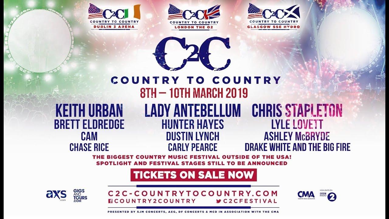 C2c 2019 Dublin 3 Arena