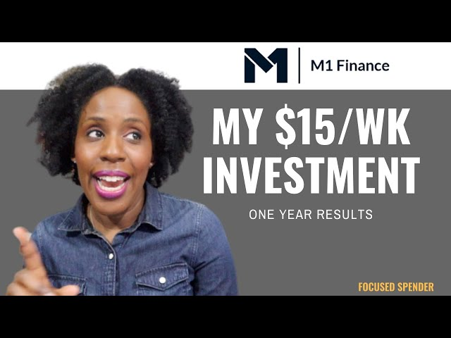 My $15/Week M1 Finance Invest Results After 1 Year! The Winners and Losers!!