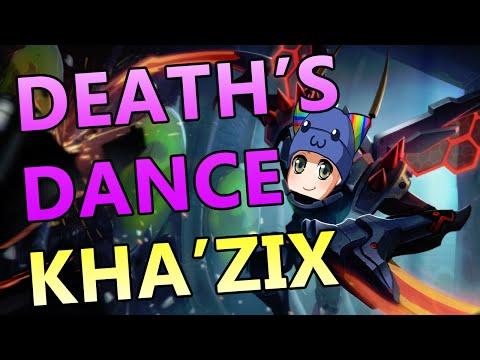 DEATH'S DANCE KHA'ZIX JUNGLE - Full Gameplay Commentary
