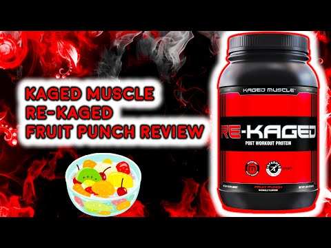 Kaged Muscle ReKaged Fruit Punch Review