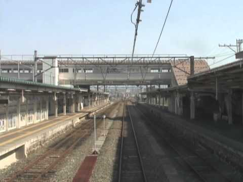 Aizu-Wakamatsu Station timelapse 2