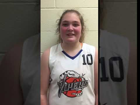 Haley Lowe (Vipers/West Davison HS/Lexington, NC) 2020 5'10 F