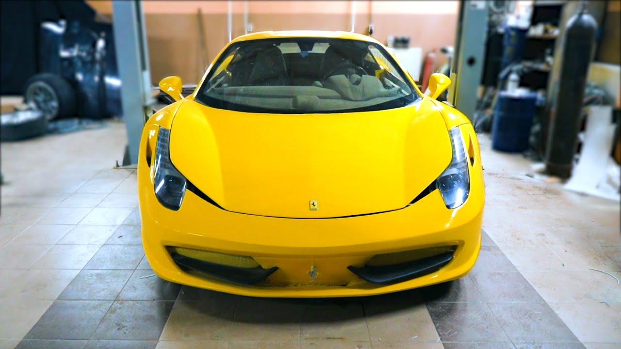 Самодельный Ferrari 458 - Мы это сделали! [Спустя 4 года..]