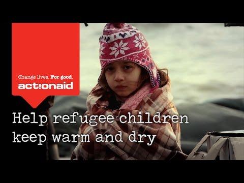 Help keep refugee children warm and dry