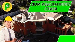 Строительство двухэтажного кирпичного дома с мягкой кровлей, с мансардой, под ключ | РЕМСТРОЙСЕРВИС