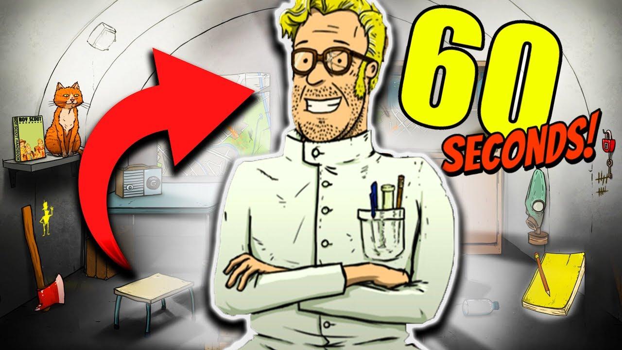 Download 60 SECONDS! : UNO SCIENZIATO PAZZO VUOLE SALVARCI!!