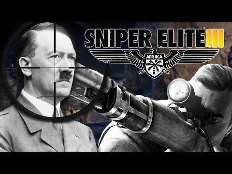 ONE BALL HITLER | Sniper Elite 3 - Part 3