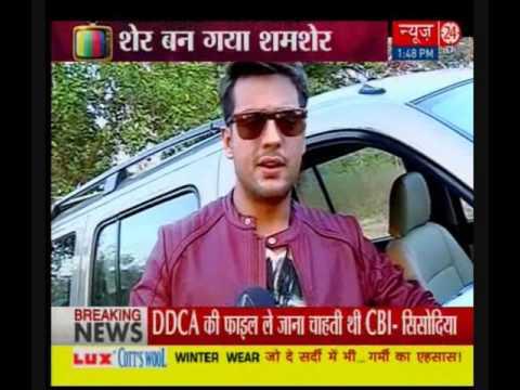 New Look of Shamsher Son of Sher Singh  in Serial Piya Rangrezz