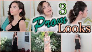 3 Prom Hair Looks! Thumbnail