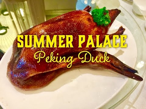 Christmas Lunch: Summer Palace Peking Duck EDSA Shangri-La Hotel Manila by HourPhilippines.com