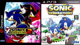 sonic adventure 2 and generations city escape modern music fused