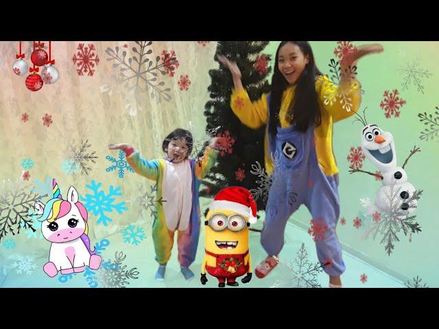 /АЛИНА И ЛИАНА НАРЯЖАЮТ ЁЛКУ/ /НОВЫЙ ГОД 2020/  /ALINA AND LIANA DRESS UP THE CHRISTMAS TREE/