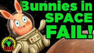 Bunnies In SPACE Disaster - Teamwork FAIL!