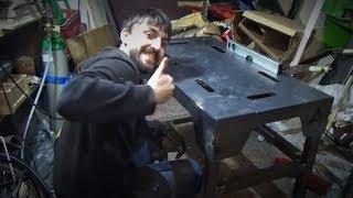 Spawaj z Piranem #11 - Jak zrobiłem stół do spawania? Pamiętnik z budowy od podstaw :)
