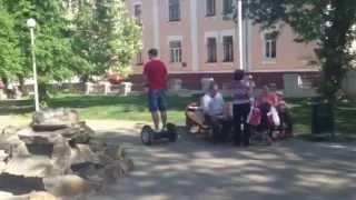Балансирующий скутер-сигвей (segway) FreeRun в Украине.Всего 4500 у.е. 0931216284.(Самый классный сигвей (segway) в Украине ! Балансирующий скутер - FreeRun импортного производства от официального..., 2013-06-11T08:26:56.000Z)