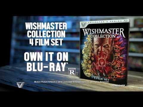 The Wishmaster 4 Film Collection Blu Ray Trailer (Vestron Video)