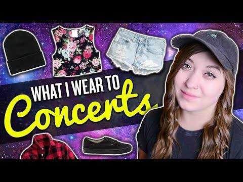 WHAT I WEAR TO CONCERTS
