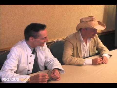 Video : Tom Six and Dieter Laser talk about The Human Centipede