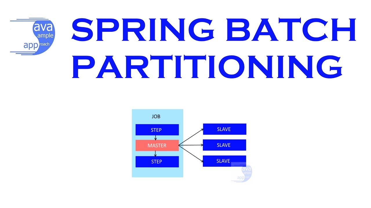 Spring Batch Partition for Scaling & Parallel Processing